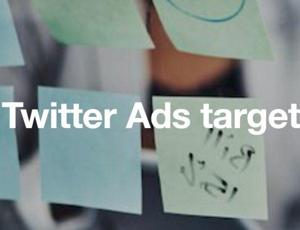 twitter ads, targeting, programapublicidad