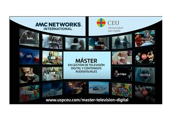 AMC Networks International ,Southern Europe, Universidad ,CEU San Pablo, ,Programapublicidad