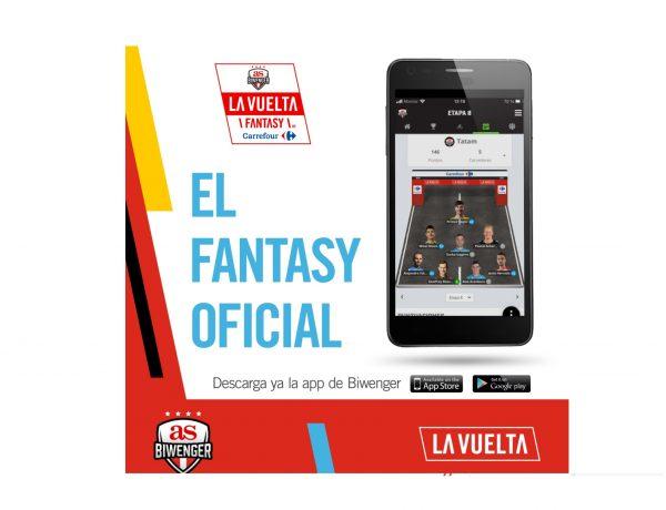 AS ,Biwenger , La Vuelta 20, primer ,Fantasy ,oficial , ciclismo , España, Fantasy , La Vuelta ,by Carrefour, , programapublicidad