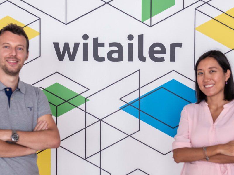 Cofundadores , Witailer, Jana Nurmukhanova, COO , Federico Salina, CEO, programapublicidad