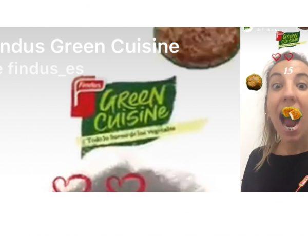 Findus España , lanza , Green Cuisine, Instagram, Zenith, programapublicidad