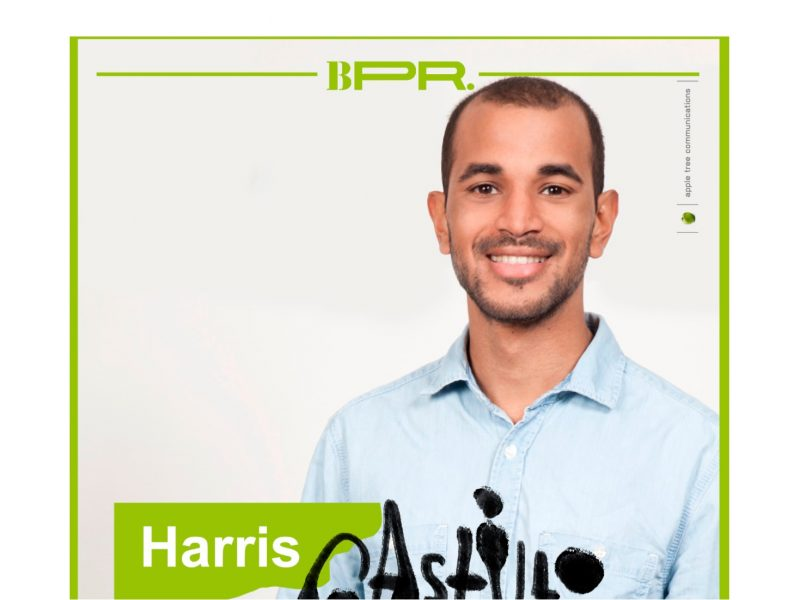Harris Castillo , profesor residente ,equipo ,Brother PR ,programapublicidad
