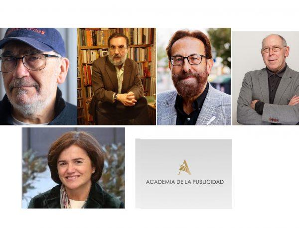 José María Casero, Raúl Eguizábal, Ricardo Pérez Galindo, Manuel Valmorisco, sahagun, Académicos de Honor , Academia ,Publicidad, programapublicidad