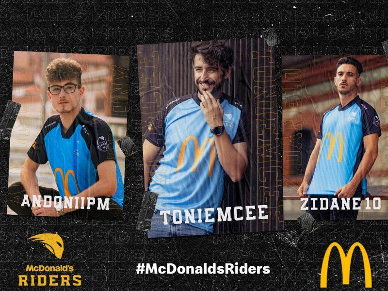 McDonalds , eSports lanzamiento , McDonalds Riders, programapublicidad