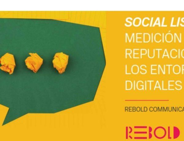 Rebold ,publica , libro, Social listening, medición , reputación , entornos digitales, programapublicidad