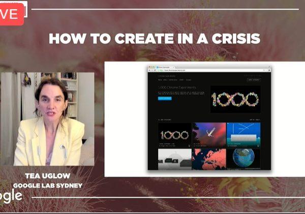 TEA UGLOW, google, inspirational, crear en crisis, programapublicidad