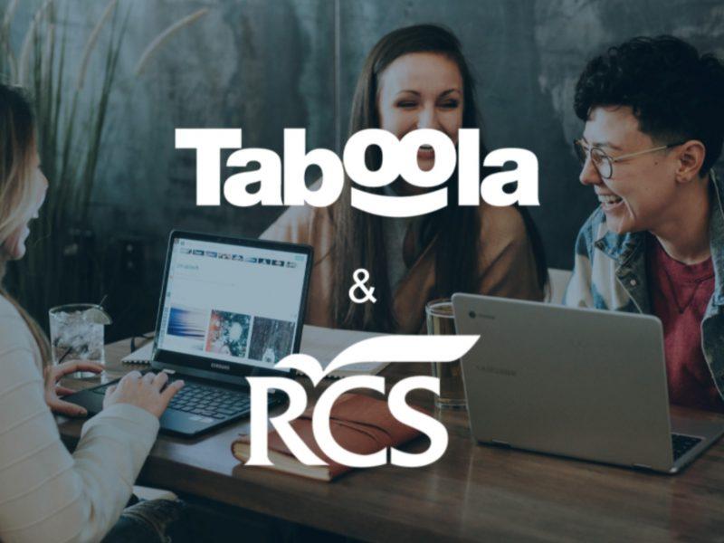 Taboola, rcs group,programapublicidad