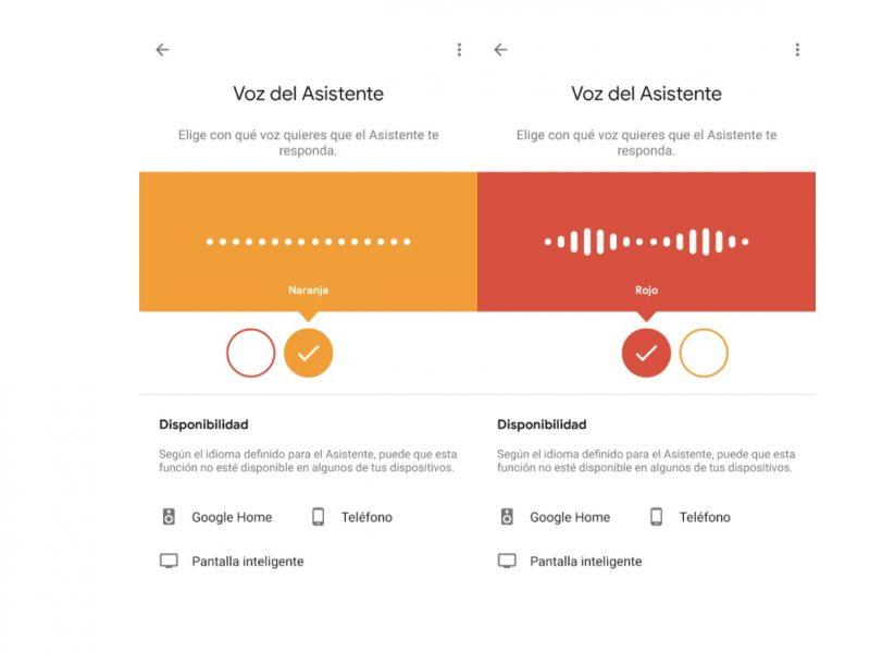 google, cambio, voz , Asistente , programapublicidad