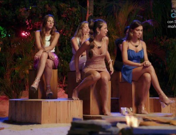 grupo, chicas, la isla, de las tentaciones ,Express,Tele 5, programapublicidad