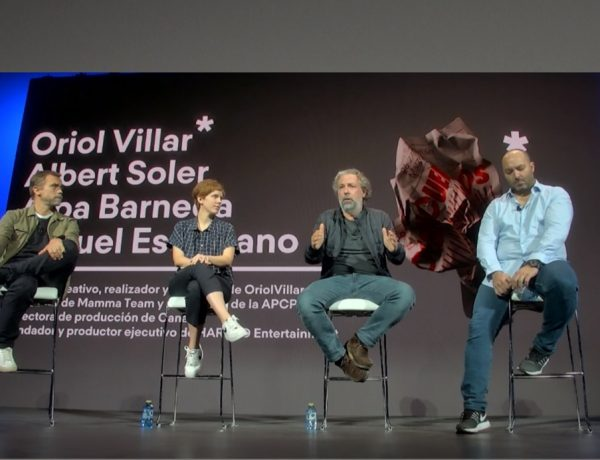 """h Mesa redonda APCP, """"Elige tu propia aventura"""", con Alba Barneda, directora de producción de CANADA; Albert Soler, fundador , Mamma Team , presidente, Programapublicidad"""