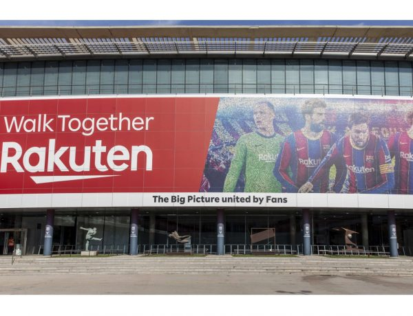 walk together, rakuten, barcelona,. cf, programapublicidad