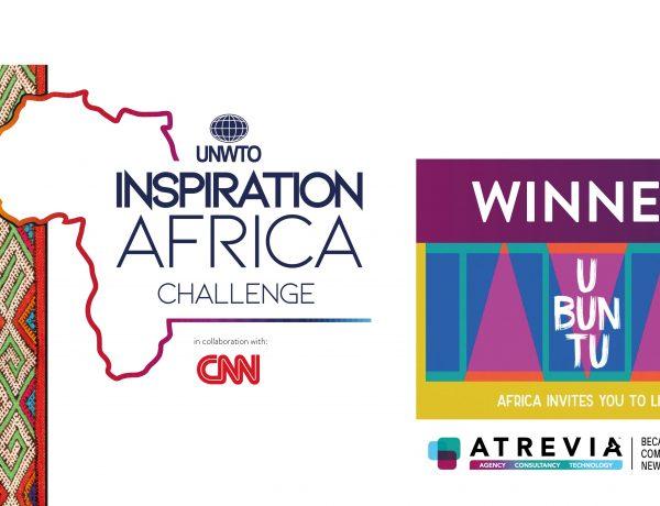 Atrevia, the winner , UNWTO ,Inspiration , Africa , Branding Challenge ,programapublicidad