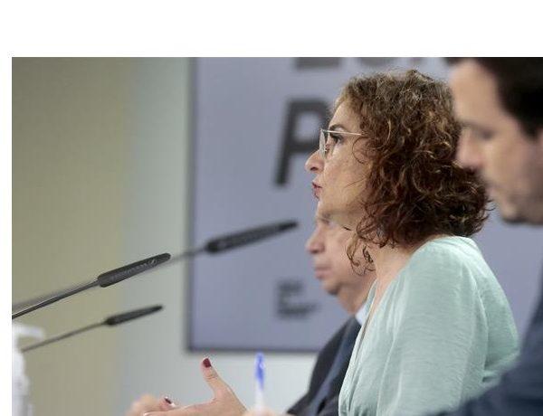 Consejo ,Ministros, María Jesús Montero, Luis Planas , Alberto Garzón ,programapublicidad