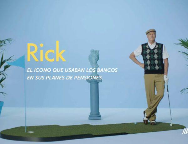 El bigote de Rick , ventajas , traer , Plan de Pensiones ,ABANCA, programapublicidad