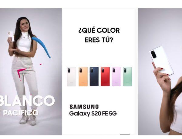 Galaxy S20 ,FAN EDITION, Ángela Mármol, WHITE PEACEFUL, programapublicidad