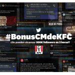 KFC lanza sus 'shitposts' en Twitter con PS21 con  #BonusCMdeKFC