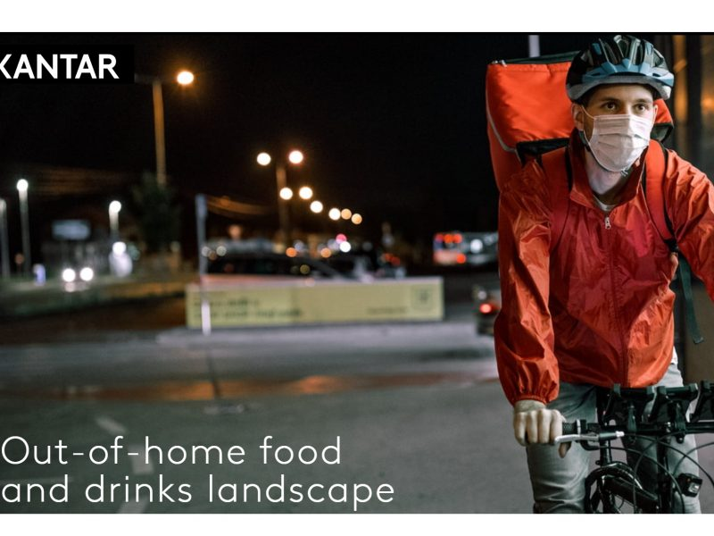 Kantar, out of home, drinks, landscape, delivery ,desplome , sector , restauración, programapublicidad