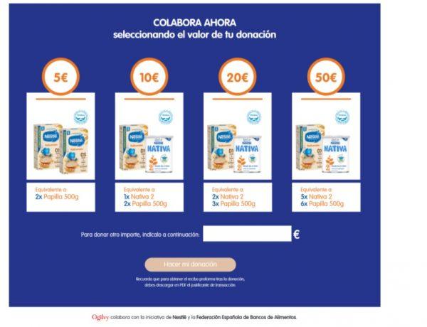 Ogilvy Barcelona, colabora , Nestlé desnutricion, programapublicidad