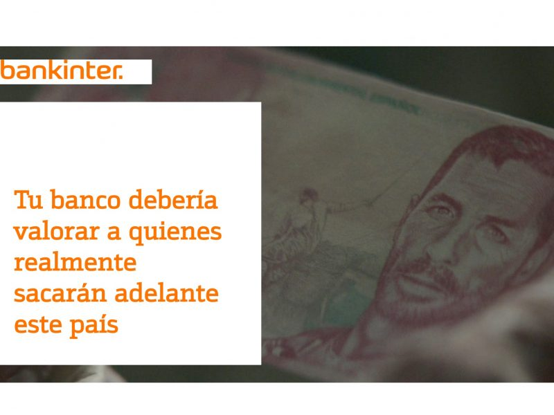 bankinter, billetes, famosos, programapublicidad