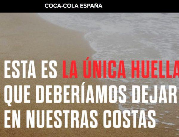 coca-cola, plasticos, mar, huellas, mares circulares, programapublicidad