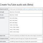 YouTube presenta los anuncios de audio para ampliar alcance y notoriedad de marca.