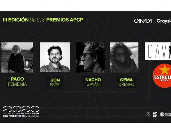 ganadores, premios apcp, cine, valladolid, programapublicidad