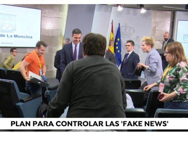 moncloa, gobierno, plan, fake news, sanchez, oliver, ivan, periodistas, programapublicidad
