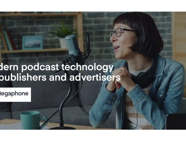 spotify, megaphone, podcast, advertisers, programapublicidad