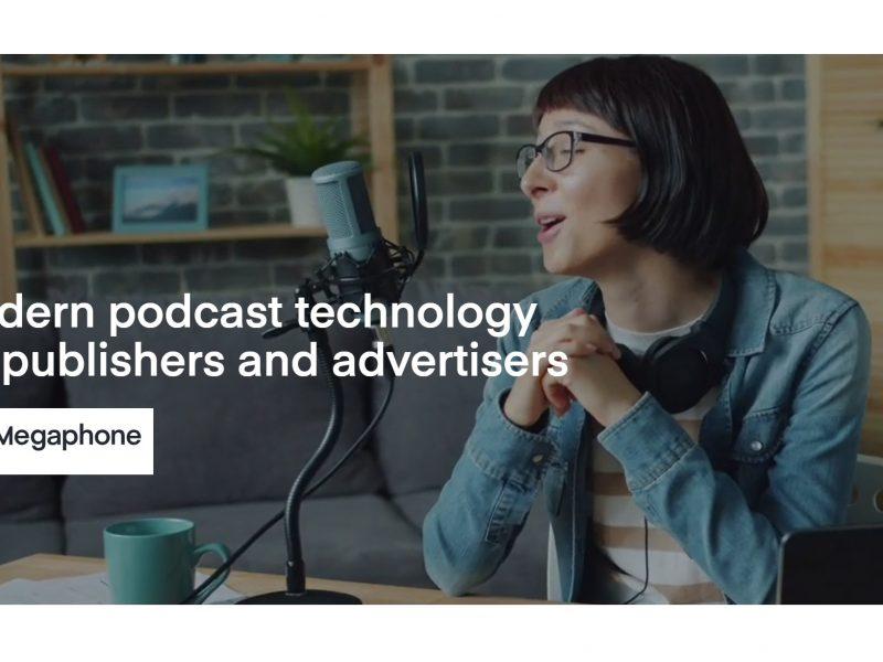 spotify, megaphone, podcast, advertisers, programapublicidad