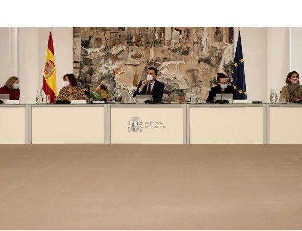 Consejo de Ministros, La Moncloa, Madrid, martes 29 de diciembre ,2020 ,programapublicidad