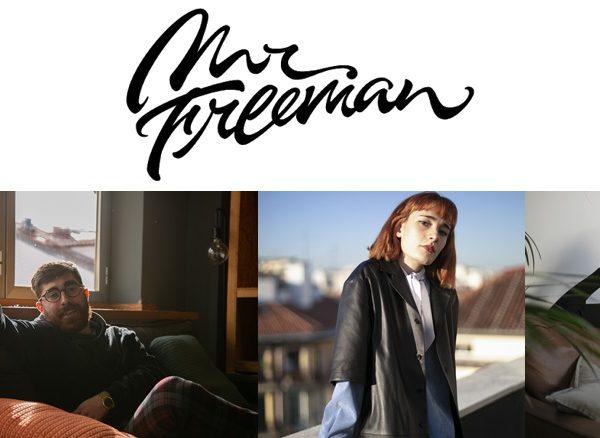 Mr. Freeman , Asier Grijalba, Responsable Cuentas, Ane Iriberri, Directora de Arte, Yaiza Sánchez , programapublicidad
