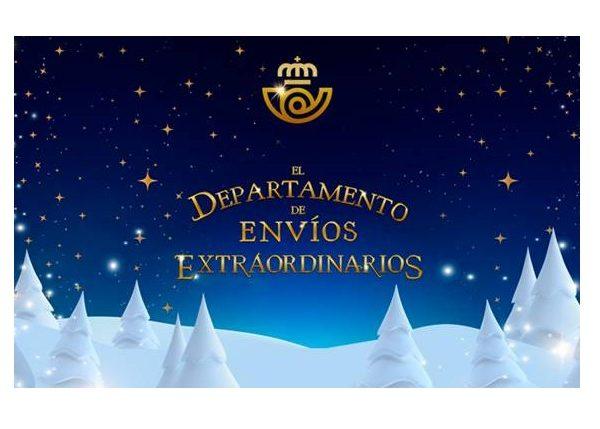 Vuelve ,Departamento , Envíos Extraordinarios , Correos , Arena ,Navidad, programapublicidad