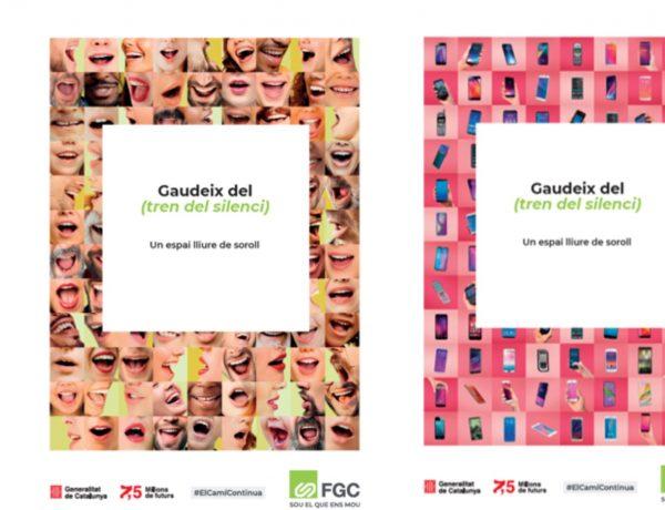campaña , Tren del Silencio, Ogilvy Barcelona , Ferrocarrils ,Generalitat de Catalunya , FGC, programapublicidad