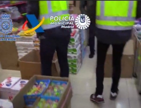 policia, Millones , juguetes , productos sanitarios , falsificados China, programapublicidad