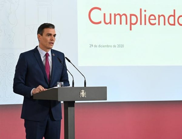 sanchez, Consejo de Ministros, La Moncloa, Madrid, martes 29 de diciembre ,2020 ,programapublicidad