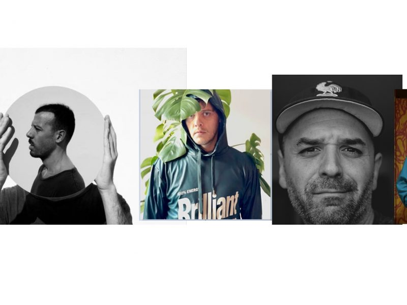 ANTIESTÁTICO ,5 NUEVOS ARTISTAS, Mike Usandivaras , Beatrice Pegard , Directores, fotógrafos ,Edu Wallace ,Víctor Bensusi , gráfica , Diego Fournier , ilustrador , muralista. programapublicidad