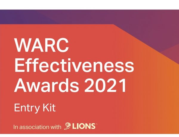 WARC, Effectiveness Awards, eficacia, lions, programapublicidad