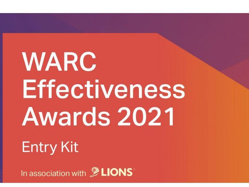 WARC, Effectiveness Awards, eficacia, lions, programapublicidad
