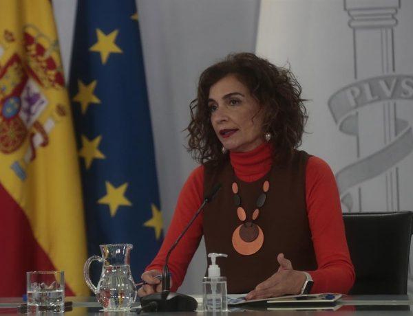 ministra de Hacienda , portavoz del Gobierno, María Jesús Montero, intervención , rueda de prensa , Consejo de Ministros, programapublicidad