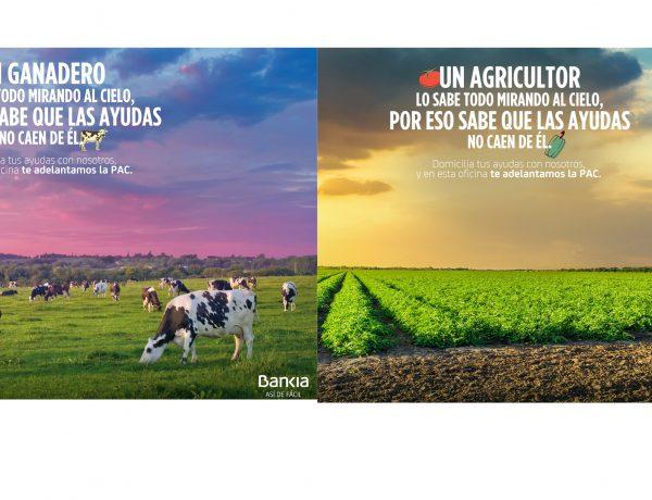 Bankia ,CLV ,PAC, ganaderos, programapublicidad