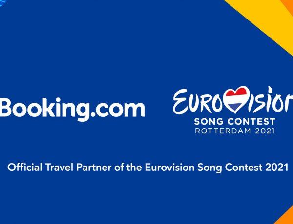 Booking.com ,patrocinador oficial ,viajes ,Festival ,Eurovisión 2021 ,programapublicidad