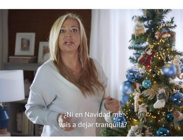 #FelicesNuevasNavidades ,Belén Esteban ,amazon, Prime Video, febrero ,2021, programapublicidad