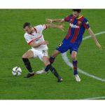 Futbol: Copa del Rey- Sevilla- Barcelona, T5, líder del miércoles con más de 4,6 millones de espectadores y 24,5% de share