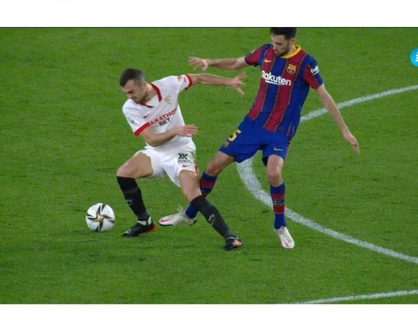 Futbol, Copa del Rey, Sevilla, Barcelona,T5, líder , miércoles , programapublicidad