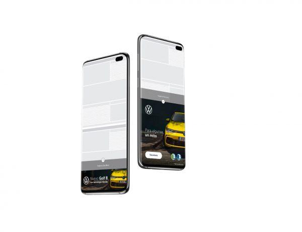 Volkswagen, primer, anunciante ,español ,maximizar ,resultados , formato móvil ,nuevo Footer Expandible, programapublicidad
