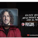 Carles Puyol habla de superación y entretenimiento en «El Entretiempo», para Scotiabank.