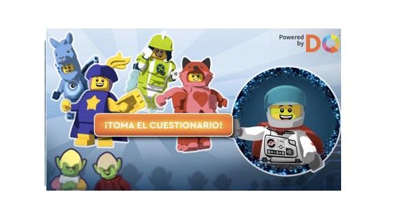 cuestionario, lego, dqinstitute ,niños, empoderar, digital, programapublicidad