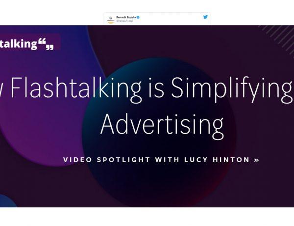 flashtalking, No medirmos ,bien ,eficacia ,creativa ,programapublicidad