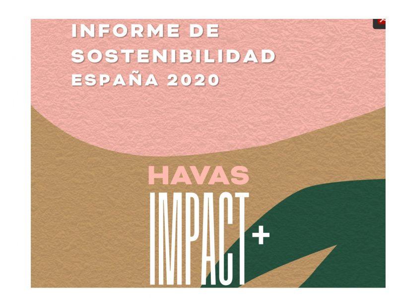 informe, sostenibilidad, HAVAS GROUP ,LANZA ,HAVAS IMPACT+ ,programapublicidad