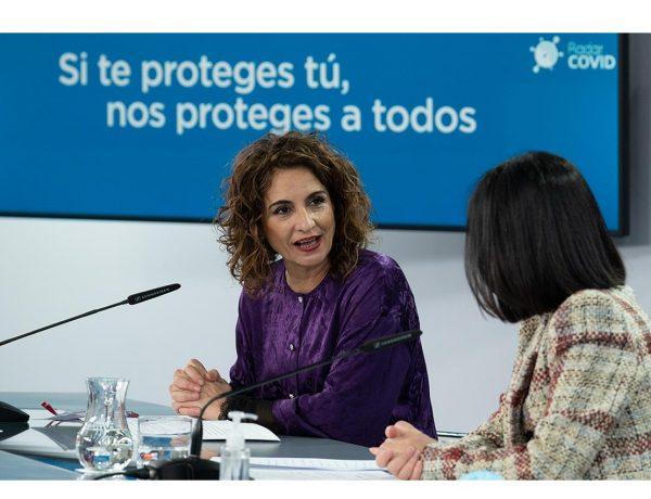 ministra de Hacienda ,portavoz ,Gobierno, María Jesús Montero, ministra de Sanidad, Carolina Darias, programapublicidad